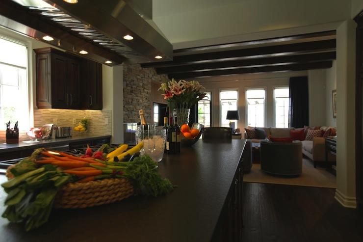 Long Kitchen Contemporary Kitchen Jeff Lewis Design