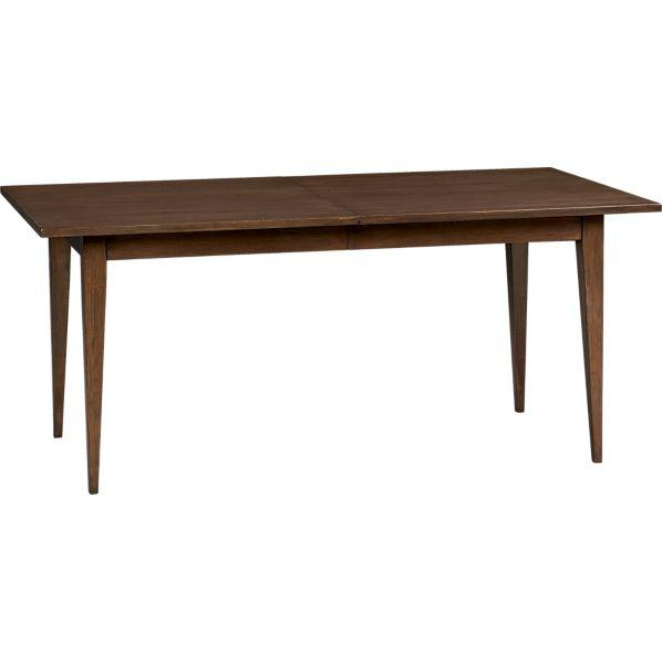lancaster extension dining table crate and barrel