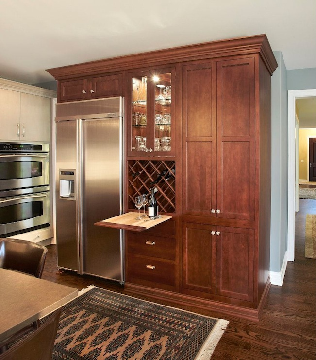 cherry cabinets design decor photos pictures ideas inspiration paint colors and remodel. Black Bedroom Furniture Sets. Home Design Ideas