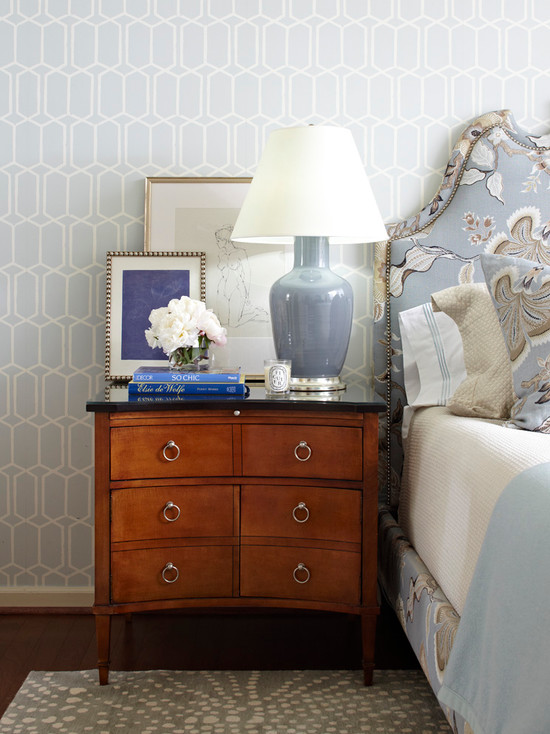 Tobi Fairley Blue and Brown Bedroom