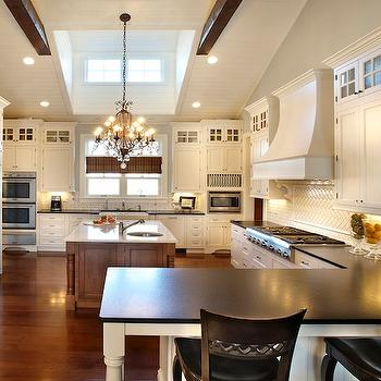 2 Tone Kitchen, Transitional, kitchen, Kristin Petro Interiors
