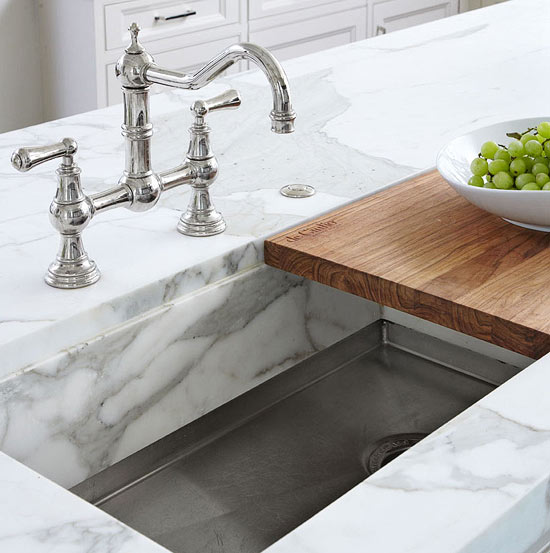 Exceptionnel Sliding Cutting Board Sink