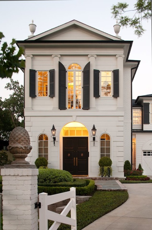 Beautiful Exterior Home Design Trends: Modern French Home Exterior
