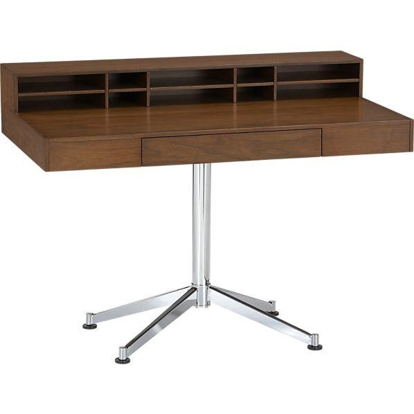 Pleasing Crane Desk Crate And Barrel Ocoug Best Dining Table And Chair Ideas Images Ocougorg
