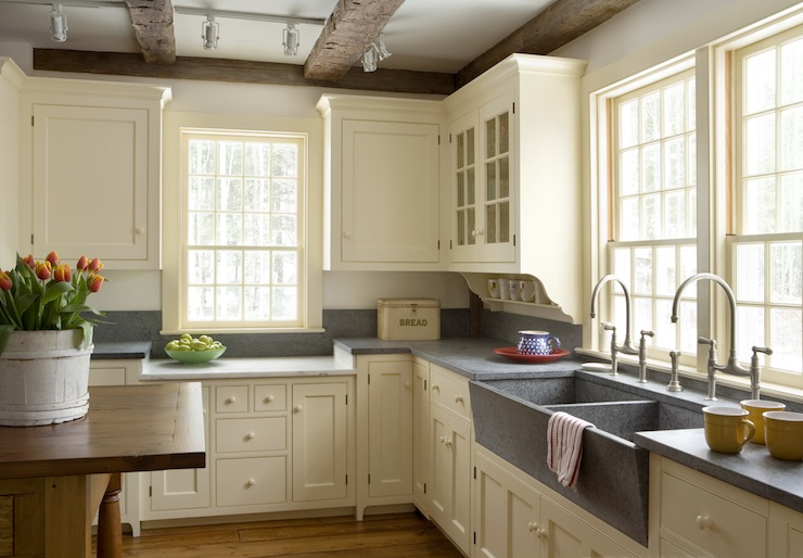 Farmhouse Kitchen Cabinets View Full Size