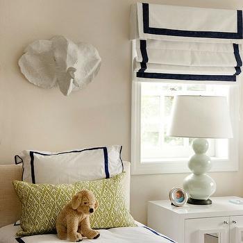 Papier Mache Elephant Head, Contemporary, boy's room, Liz Carroll Interiors