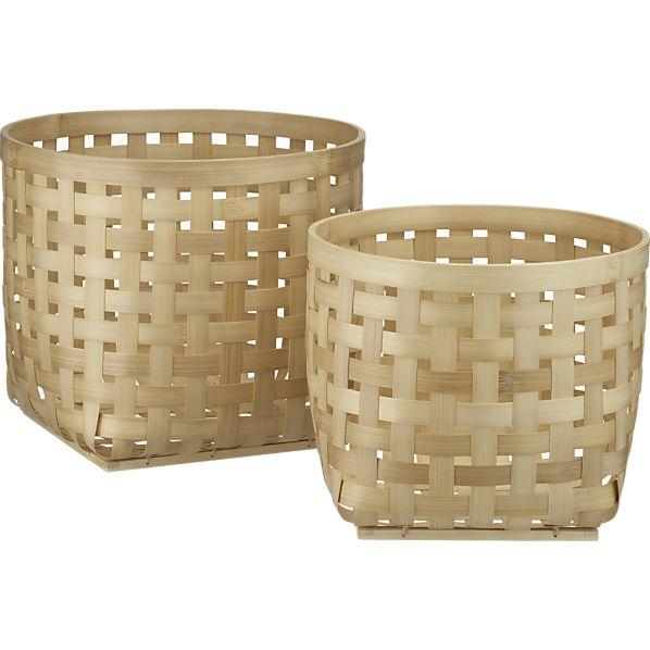Santoso Baskets Crate And Barrel