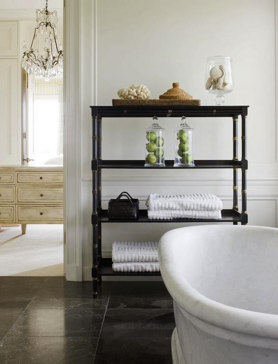 Bamboo Etagere view full size. Bathroom Etagere Design Ideas