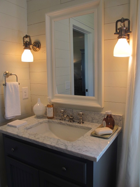 Coastal Bathroom Cottage Bathroom Sherry Hart Designs