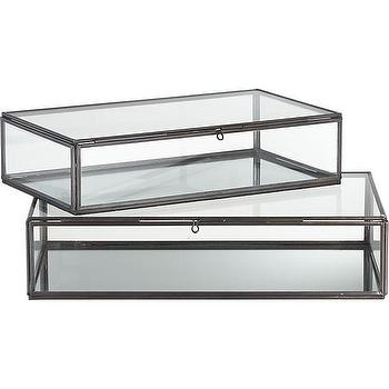 Clarus Display Boxes, Crate and Barrel