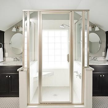 Black Bathroom Vanity, Transitional, bathroom, Renewal Design Build