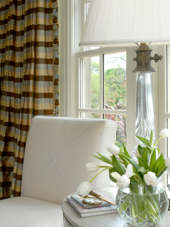 Curtains Ideas brown white striped curtains : Horizontal Striped Drapes Design Ideas