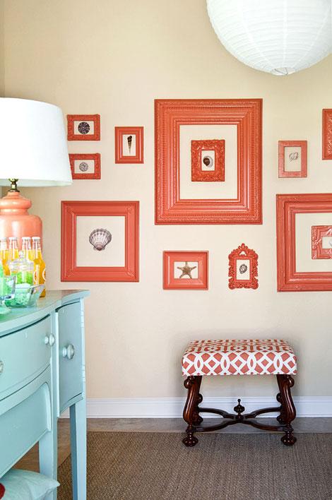 Apricot Wall Color Design Ideas