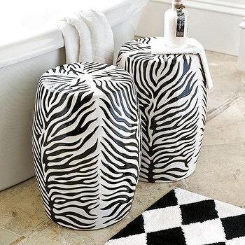 Zebra Garden Seat - Ballard Designs & Firenze Ceramic Garden Seat - Ballard Designs islam-shia.org