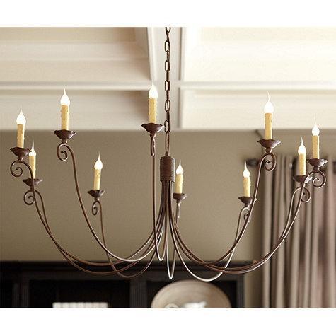 Cosette 10 light chandelier ballard designs aloadofball Images