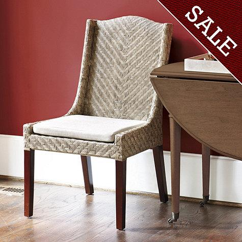 Montecito Woven Arm Chair, Set of 2 - Dining Room
