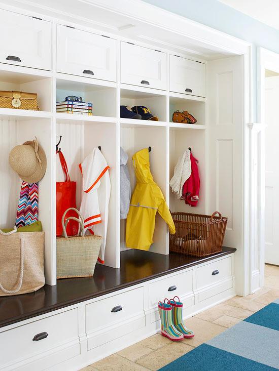 Mud Room Design Cottage Laundry Room Bhg