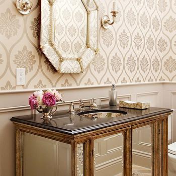 Glamorous Powder Room Design Ideas