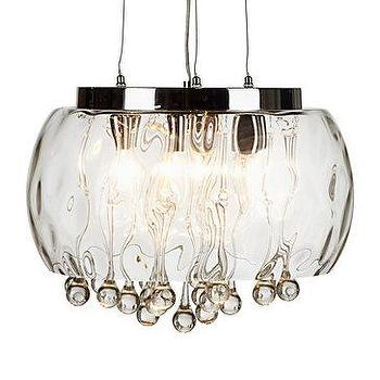 1650 Elsewhere Hand Blown Art Glass Chandelier Only 399