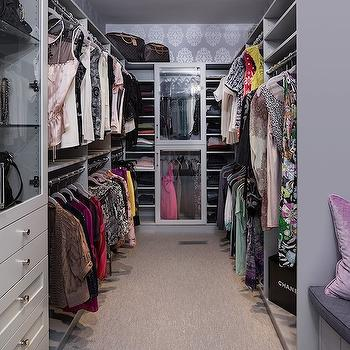 Walk-In Closet Design, Contemporary, closet, Beckwith Interiors