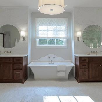 Bathtub Nook, Transitional, bathroom, Beckwith Interiors
