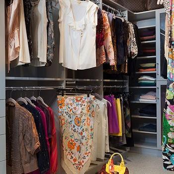 Built In Closet Shelves, Contemporary, closet, Beckwith Interiors