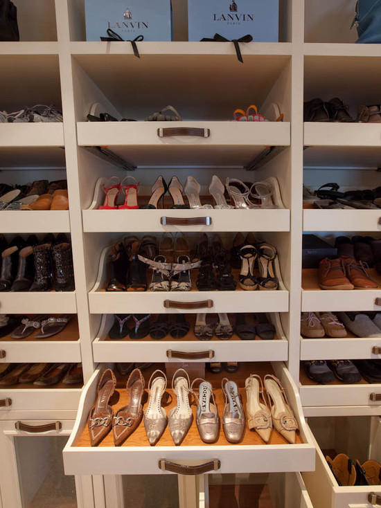 Pull Out Shoe Drawer Design Ideas