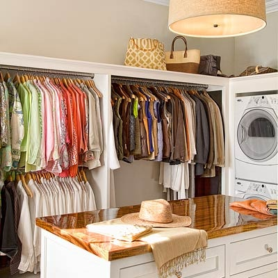 Closet Laundry Room View Full Size