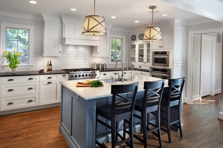 Complementing Kitchen Colors With Grey Floors