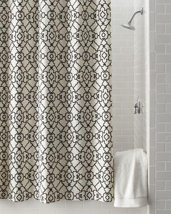 Windsor Scrollwork Shower Curtain Neiman Marcus
