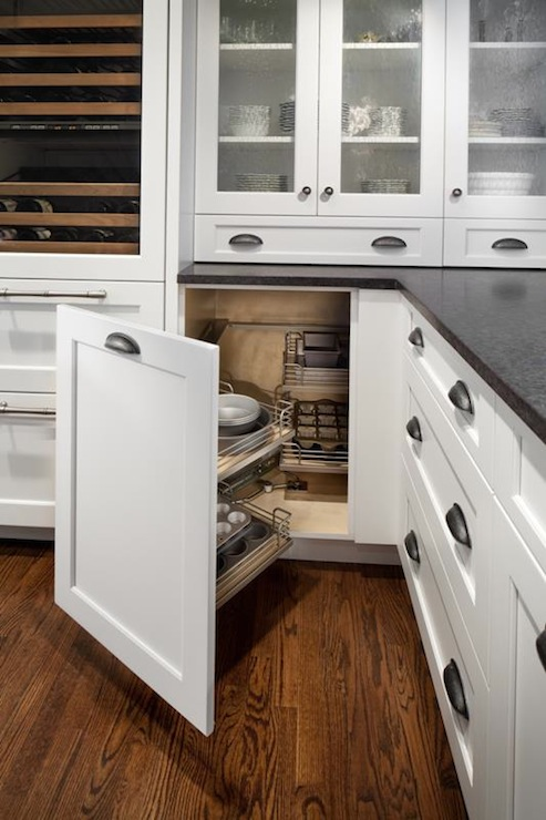 Swing Out Kitchen Cabinets