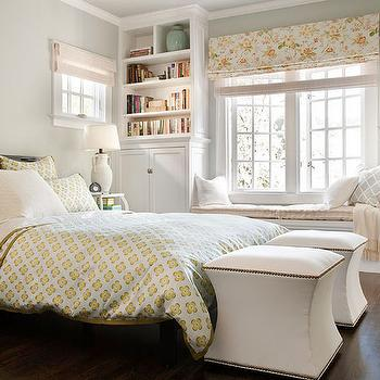 Bedroom Window Seat, Traditional, bedroom, BHG