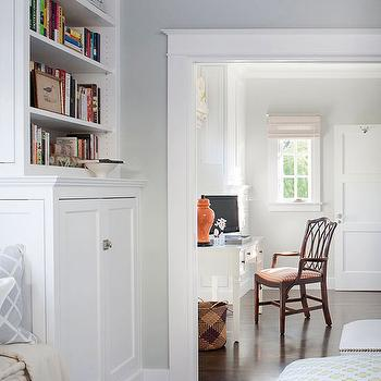 Bedroom Office, Traditional, bedroom, BHG