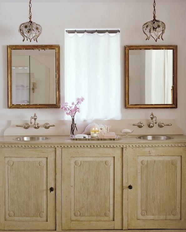 Shabby Chic Bathroom Cottage Bathroom Giannetti Home