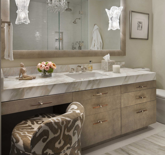 Ikat Chair Hollywood Regency Bathroom Paola Salinas
