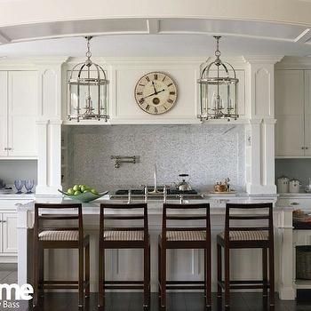 Kitchen Island Lanterns, Transitional, kitchen, At Home in Fairfield County