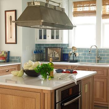 Beech Kitchen Cabinets, Cottage, kitchen, Phoebe Howard