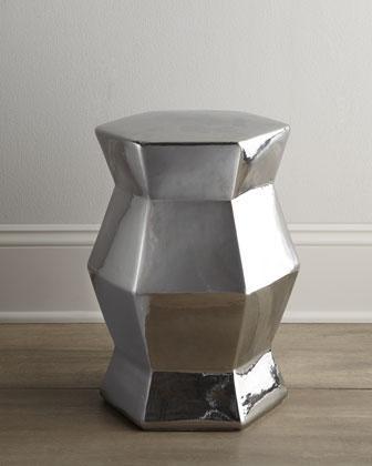 Silvery Ceramic Stool - Neiman Marcus & Ceramic Stool - Neiman Marcus islam-shia.org