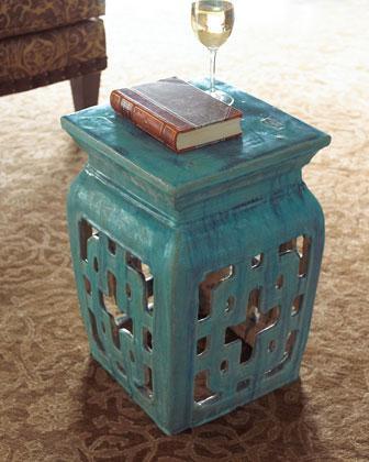 Rattan Garden Seat With Lid Ballard Designs