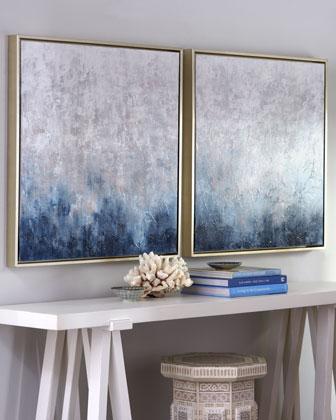 39 Frost On Sapphire 39 Wall Art Neiman Marcus