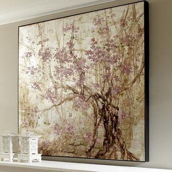 'Plum Blossom' Painting, Neiman Marcus