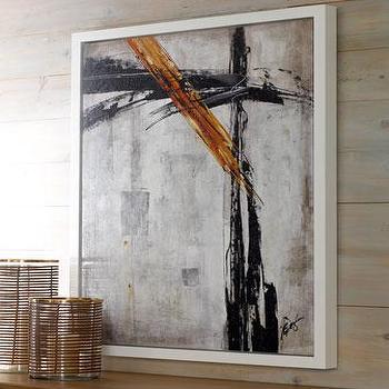 'Broken Brushstrock' Giclee, Neiman Marcus