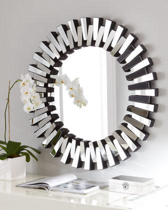 'Mingling Slats' Mirror, Neiman Marcus