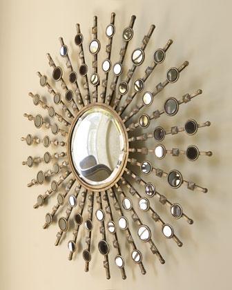 Metal Wall Decor Target mirrors - gold mirror