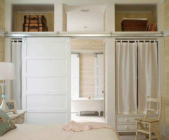Master Bathroom Barn Door sliding barn doors design ideas