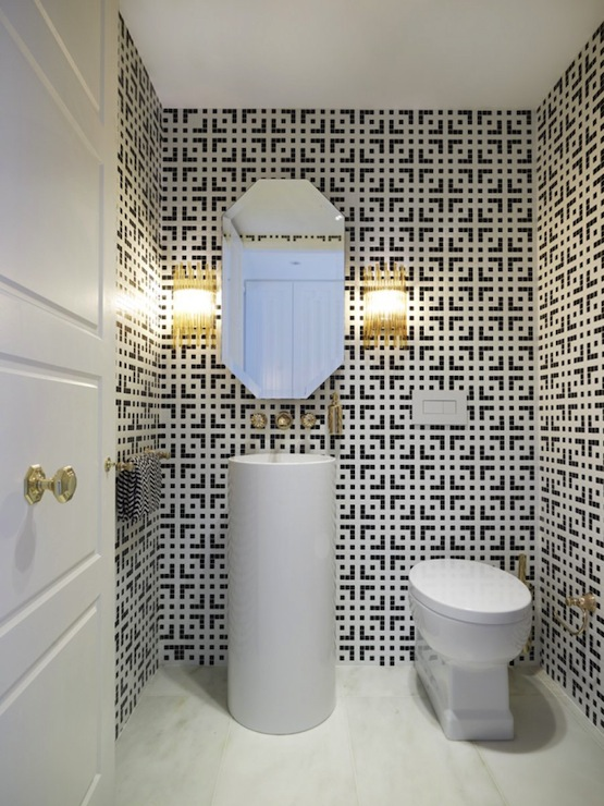 Geometric Bathroom Tiles Contemporary Bathroom Greg