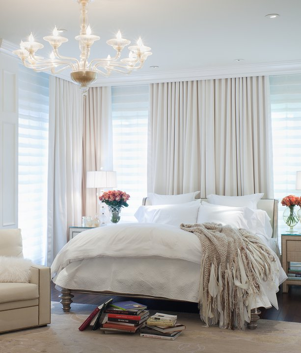 White Roman Blinds Design Ideas
