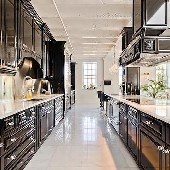 Black Kitchens Contemporary Kitchen Pricey Pads