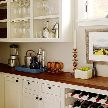 Built-In Wine Rack, Transitional, kitchen, BHG