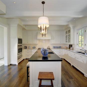 White Kitchen, Traditional, kitchen, Pricey Pads